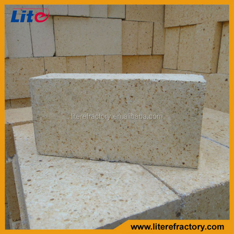 High Temperature Standard Size Dense Fireproof Refractory Brick For Steel Plant