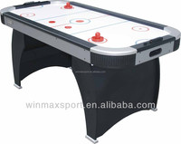 Popular table toy,MDF black and sliver air hockey table,outdoor air hockey table