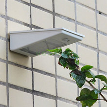 Wholesale Free Sample Outdoor Security Solar Courtyard Wall Light