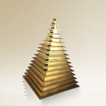 Y9 FOR HIRE 235x Chocolate SQUARE Pyramid Ferrero Rocher Wedding Display Stand