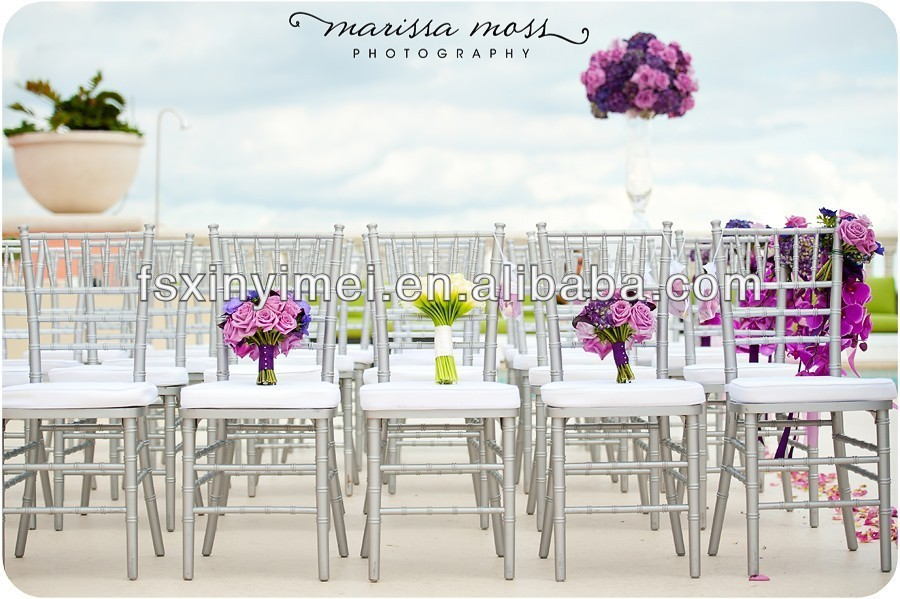 High quality aluminium chiavari chairs on sale