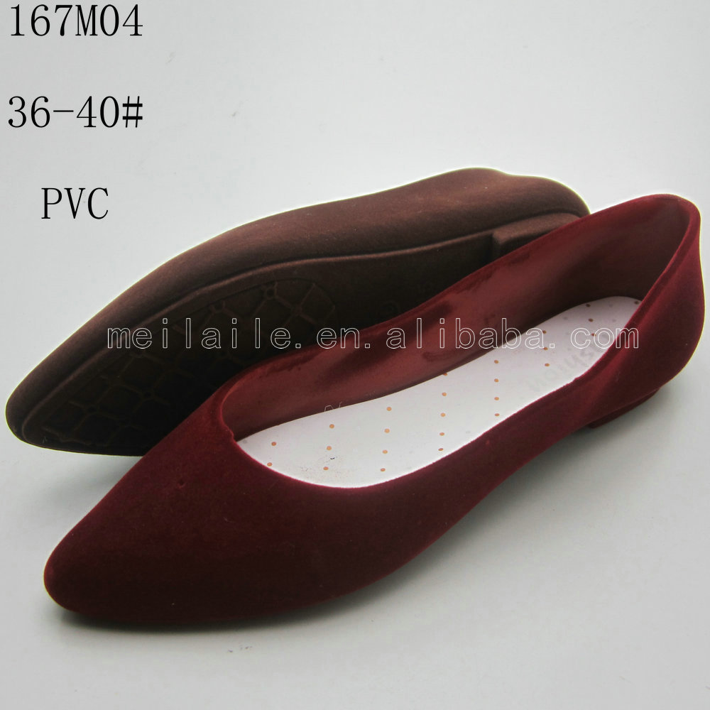 tip sandals,flocking women shoes,pvc material sandals