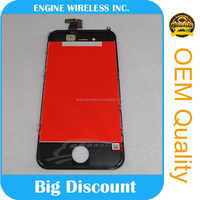 High Quality For Iphone 4/4s lcd replacement,digitizer screen for iphone 4 Display Module oem