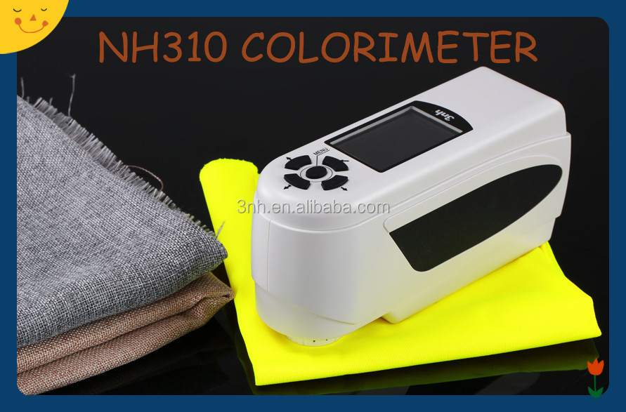 Color Difference Meter/Color Deviation Measurement Colorimeter/Color Reader NH310