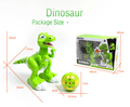 Battery Operated Walk Dinosaur Happy Plastic Electronic Toy For Kids
