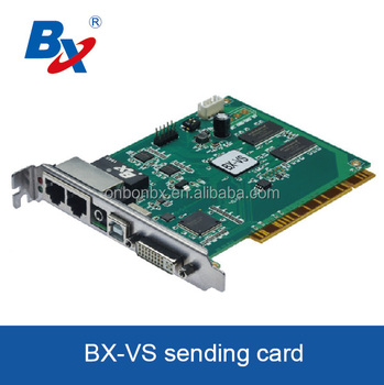 P2 P3 P4 P5 P6 P7.62 BX-VS synchronous full color sending card RGB Video Wall