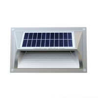 Double Head Gypsum Dimmable Solar Waterproof Led Wall Lighting