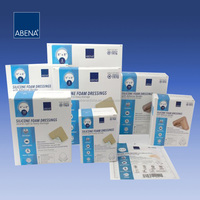 Abena S Silicone Foam Dressings With