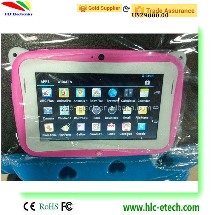 4.3 inch kids Tablet Google single Core Android 4.0 with games Learn Grow Play Kids Education PC Tablet