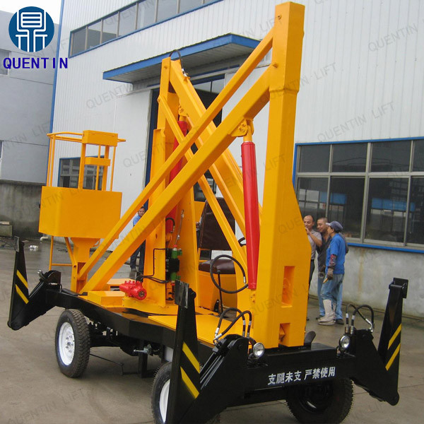 Electric small hydraulic articulated boom lifts for sale