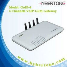 GoIP 4 Channels gsm to ip gateway GSM to VoIP Gateway GSM VoIP Mobile GOIP-4