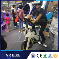 VR Glasses Type exercise vr bike new amusement type