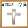 Hot sale unfinished wooden crosses wholesale hand carved custom wooden cross