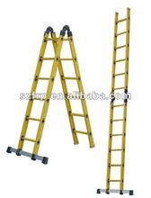 High strength FRP/GRP fiberglass section ladder