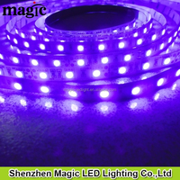UV Purple Light PCB Black White 5050 LED Strip 5M SMD Waterproof 400NM LED Strip