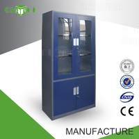 OEM avaliable ISO standard purple mirrored file cabinet for document