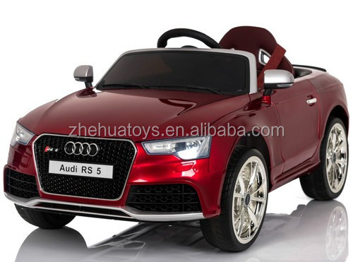 2017 new licensed ride on car kids electric ride on car audi rs5