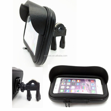 Bike Handlebar Holder Mount/bicycle Waterproof phone Bag /Bike Mount Pouch for Cellphone