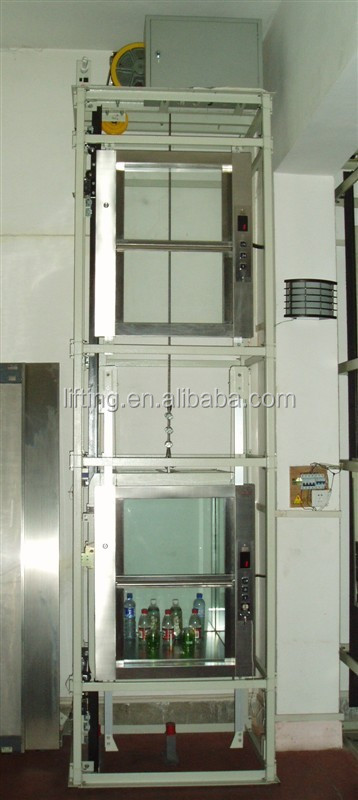 China Food Elevator Food Grade Belt Dumb Waiter