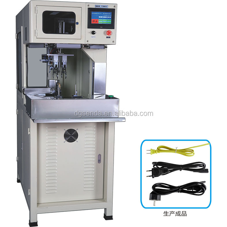 Advanced AC Power Cable Wrapping Machine Twist Tie Machine Coil Winding Machine (SD-168BS)