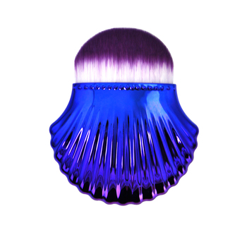 High Quality Soft Hair Blue Shell Makeup Brush Necessities