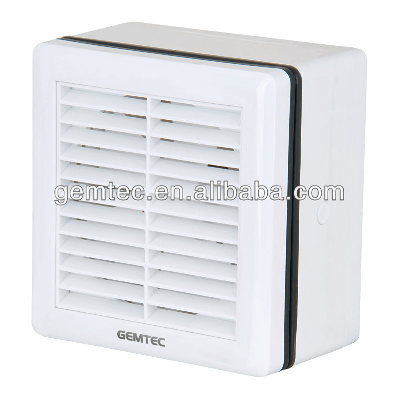 louvered exhaust fans with automatic shutter