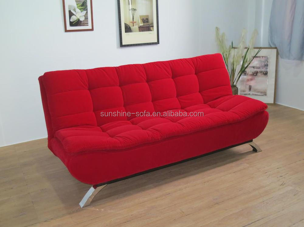 Folding fold down sofa bed with cushion sofa set furniture - Telas para sofa ...