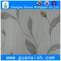 Most popular classic adhesive deep embossed wallpaper pvc
