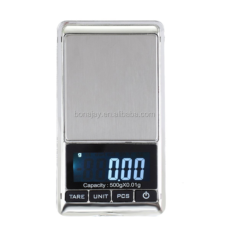 300g 0.01g digital pocket scale
