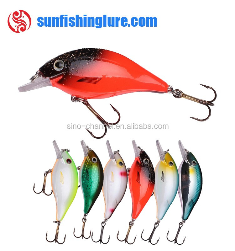 New Mini Crankbaits Lure Artificial Hard Bait Floating Rattles Crank Hard Lure