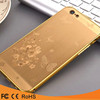 Hot design Chinese dragon electroplated Metal Pc Back Cover mobile phone Case for Iphone 5