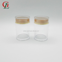 Hot sale 50ml pharmaceutical use PET/PE/PMMA/ PS hard material plastic capsule bottle sex pill bottle empty plastic vials