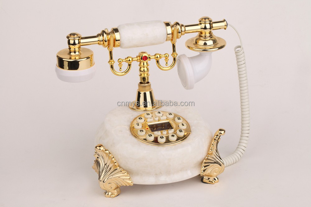 High-end top-sales beautiful antique corded telephone caller id old sytle telephone MS-8200B