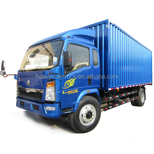 2015 famous brand sinotruk howo small vehicle cargo truck for sale