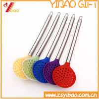 New arrival Silicone filter spoon with Stainless Steel handle