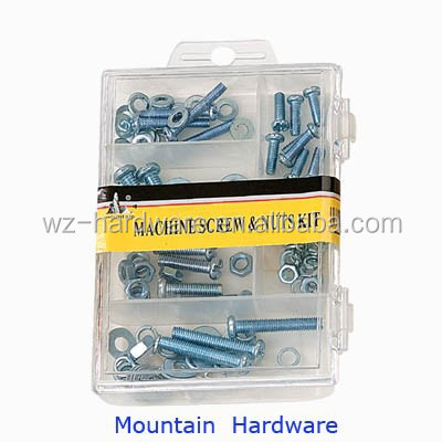Home Nuts, Washers and Machine Screws Assortment