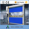 Safety Electric Automatic Stainless Steel Imported Motor Fast pvc Door