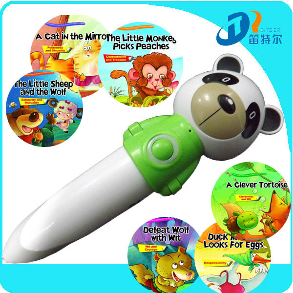 Cute Toys- Touch electronic chinese reading pen for kids DC005