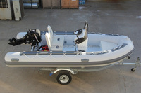12ft Aluminum Hull Inflatable Coast Guard Rescue Boat