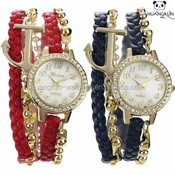 Women Watches Vogue Vintage Hand Quartz Fashion Bracelet Lady Watch