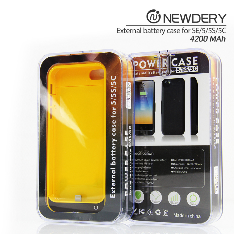 shenzhen fast charging power banks rechargeable backup battery case for iphone 5/5s/5c/se