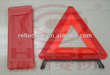 Warning trianglecar accessory, red safety reflective warning triangle for emergency