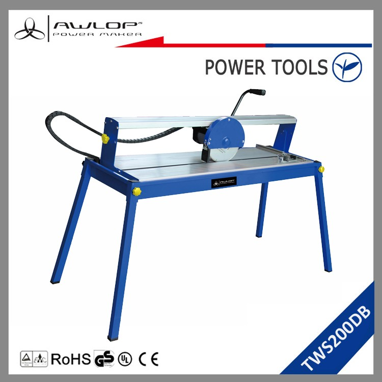 AWLOP 800W Electric Tile cutter saw, Wet Tile Saw With Floor Stand