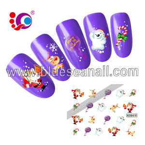 Competitive Price 2016 Top Quality nail art christmas decoration
