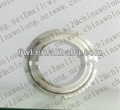 High quality DIN25 304/316L stainless steel round slotted nuts