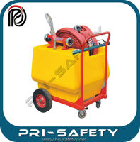 The movable cart foam extinguisher 120L capacity