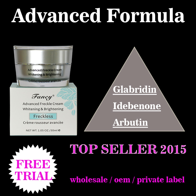 Skin whitening face cream formula medicated skin cream for dry skin image