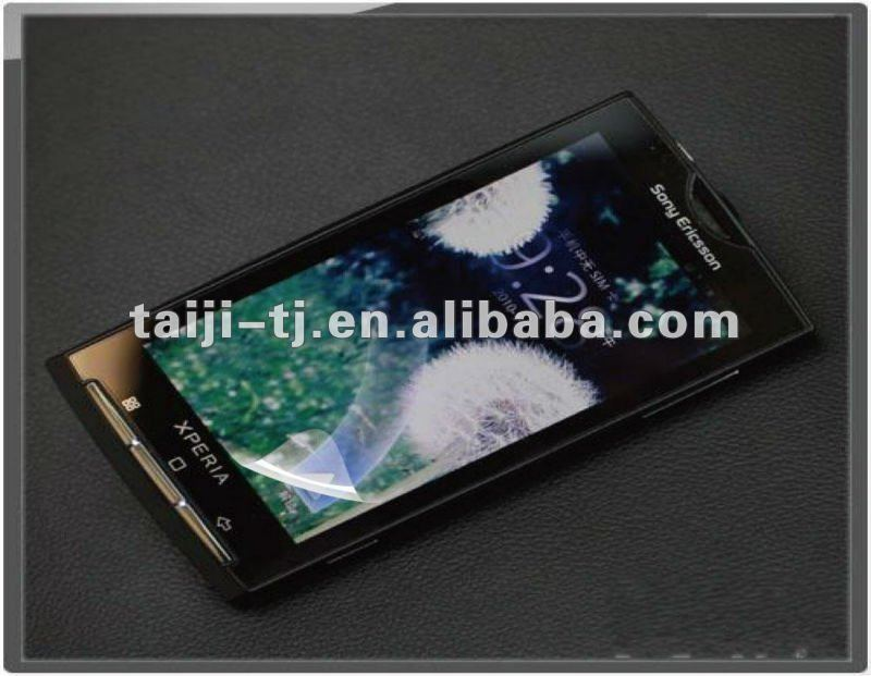 Clear LCD Screen Protectors for Sony Ericsson X10 - Anti-Scratch Guards Display Savers