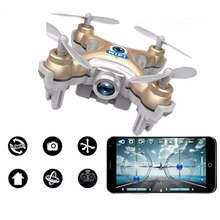RC Mini Drone 2.4G 4CH Quadcopter Toys With Camera