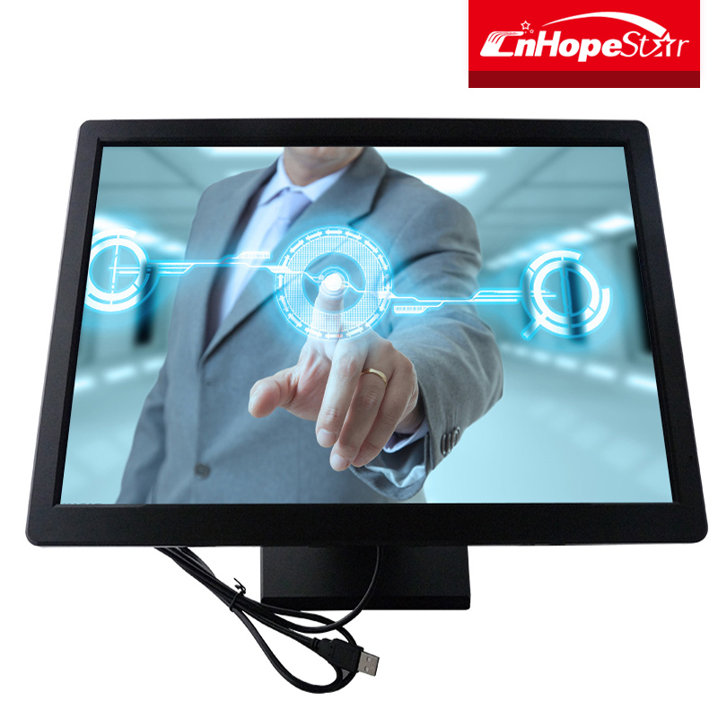1440*900 resolution 19 inch lcd touch screen monitor